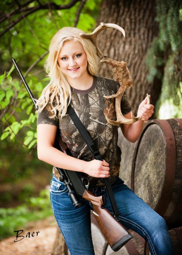 Girl With Gun | THE TEXAS SCRIBBLER